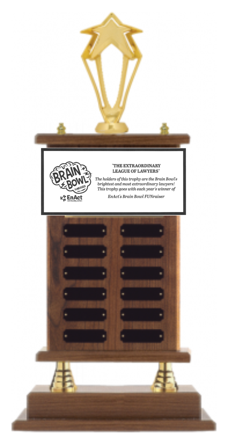 Extraordinary League of Lawyers Trophy